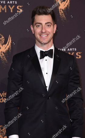 Will Marfuggi arrives at night one of the Creative Arts Emmy Awards at the Microsoft Theater, in Los Angeles