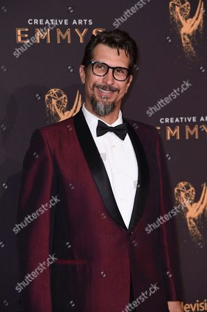 Lucky Yates arrives at night one of the Creative Arts Emmy Awards at the Microsoft Theater, in Los Angeles