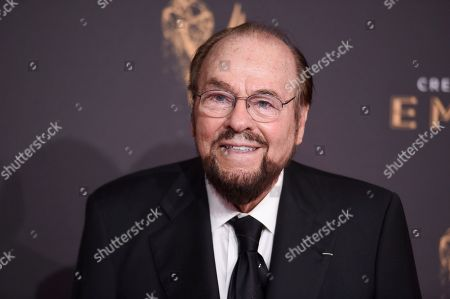 James Lipton arrives at night one of the Creative Arts Emmy Awards at the Microsoft Theater, in Los Angeles