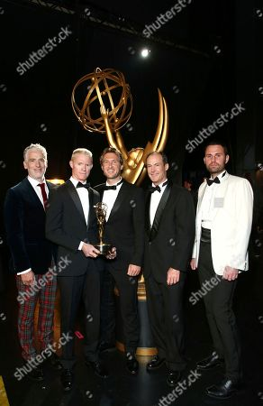 Editorial photo of Television Academy's 2017 Creative Arts Emmy Awards - Backstage and Audience - Night 1, Los Angeles, USA - 09 Sep 2017