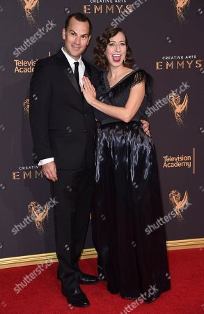 Editorial image of 2017 Creative Arts Emmy Awards - Arrivals - Night One, Los Angeles, USA - 09 Sep 2017