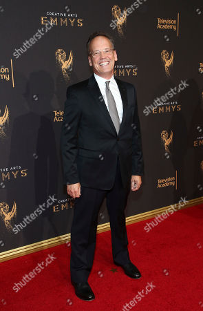 Dee Bradley Baker arrives at night one of the Television Academy's 2017 Creative Arts Emmy Awards at the Microsoft Theater, in Los Angeles