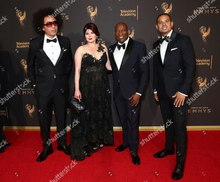 Editorial photo of Television Academy's 2017 Creative Arts Emmy Awards - Red Carpet - Night 1, Los Angeles, USA - 09 Sep 2017