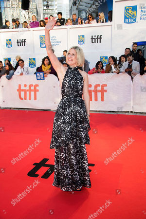 "Emma Jensen attends a premiere for ""Mary Shelley"" on day 3 of the Toronto International Film Festival at Roy Thomson Hall, in Toronto"