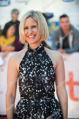 "Stock Picture of Emma Jensen attends a premiere for ""Mary Shelley"" on day 3 of the Toronto International Film Festival at Roy Thomson Hall, in Toronto"
