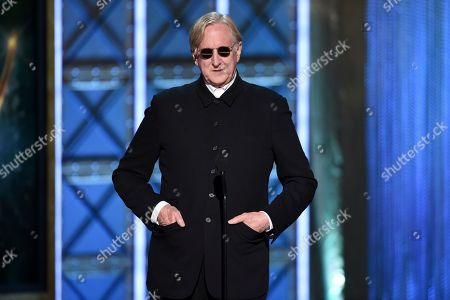 T Bone Burnett appears during night one of the Television Academy's 2017 Creative Arts Emmy Awards at the Microsoft Theater, in Los Angeles