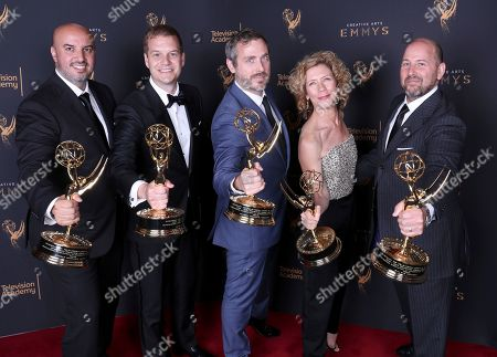 Editorial picture of Television Academy's 2017 Creative Arts Emmy Awards - Portraits - Night 1, Los Angeles, USA - 09 Sep 2017