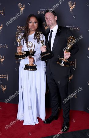 Editorial image of Television Academy's 2017 Creative Arts Emmy Awards - Portraits - Night 1, Los Angeles, USA - 09 Sep 2017