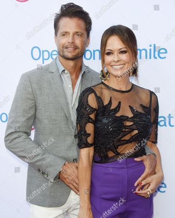 Brooke Burke Charvet and husband David Charvet
