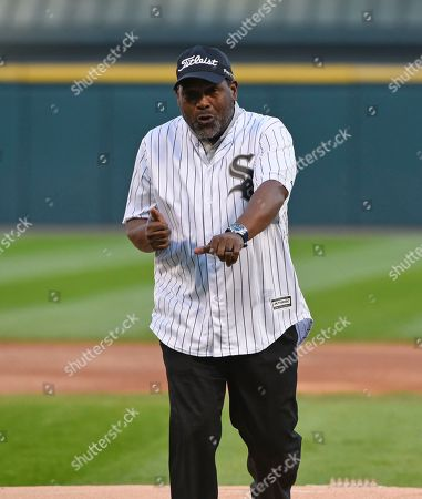 Editorial image of Giants White Sox Baseball, Chicago, USA - 09 Sep 2017