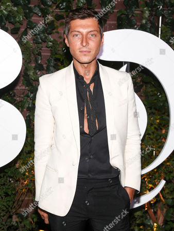 Cory Bond attends the NYFW Spring/Summer 2018 BoF 500 Gala at the Public, in New York