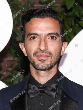 Imran Amed attends the NYFW Spring/Summer 2018 BoF 500 Gala at the Public, in New York