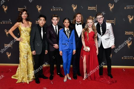 Editorial image of Creative Arts Emmy Awards, Arrivals, Los Angeles, USA - 10 Sep 2017