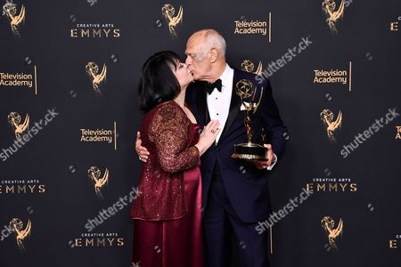 Stock Image of Delta Burke and Gerald McRaney