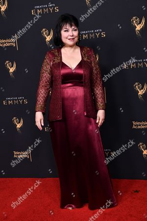 Editorial picture of Creative Arts Emmy Awards, Press Room, Los Angeles, USA - 10 Sep 2017