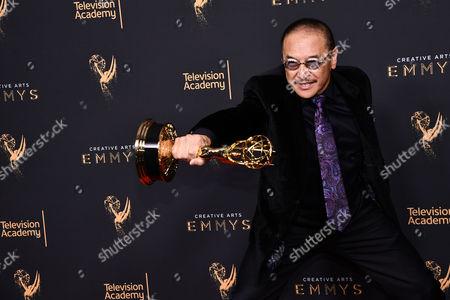 Editorial image of Creative Arts Emmy Awards, Press Room, Los Angeles, USA - 10 Sep 2017