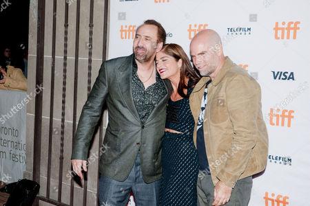 Selma Blair, Brian Taylor and Nicolas Cage