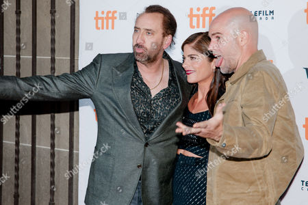 Stock Picture of Selma Blair, Brian Taylor and Nicolas Cage