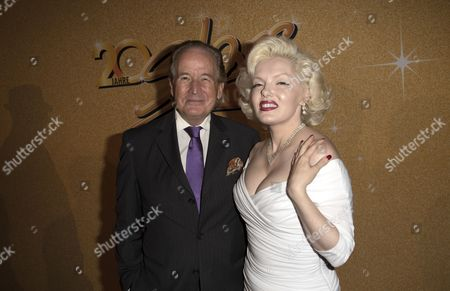 Stock Picture of Max Schautzer, Marilyn Monroe Double