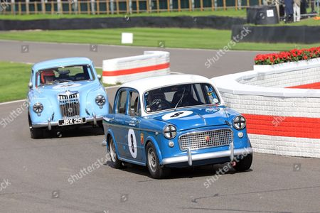 Action during St Mary's Trophy Part 1 Race - Amanda Stretton driving 1958 Fiat Abarth Evocation