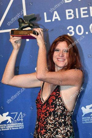 Susanna Nicchiarelli, the Orizzonti Award for Best Film for Nico, 1988