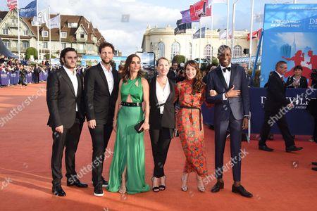 Stock Image of Leonor Varela, Anais Demoustier, Emmanuelle Bercot, Abd al Malik, Pio Marmai and Pierre Rochefort