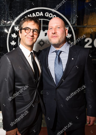 Stock Picture of Atom Egoyan and Dani Reiss