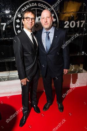 Stock Image of Atom Egoyan and Dani Reiss