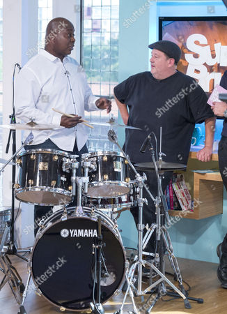 Stock Image of Ralph Rolle, Johnny Vegas
