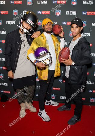 Editorial photo of NFL UK Kick Off party, Banking Hall, London, UK - 10 Sep 2017