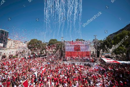 Fabian Picardo. Rockets and streamers are seen during the National Day celebrations at Case Mates square in the British territory of Gibraltar on . The chief minister of Gibraltar says the British territory's post-Brexit future rests on strengthening its ties with the United Kingdom