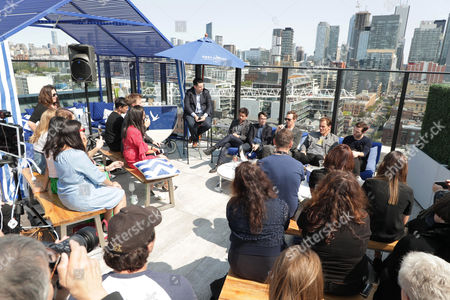 Joe Utichi, Alfonso Gomez-Rejon, Director, Michael Mitnick, Writer/Executive Producer, Benedict Cumberbatch, Michael Shannon and Nicholas Hoult
