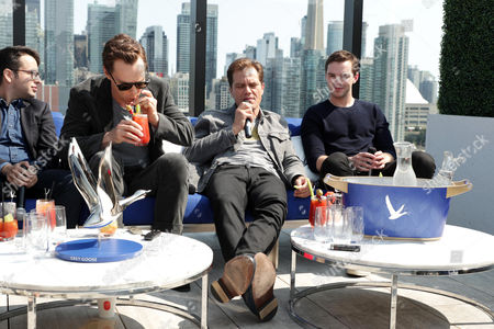 Michael Mitnick, Writer/Executive Producer, Benedict Cumberbatch, Michael Shannon and Nicholas Hoult