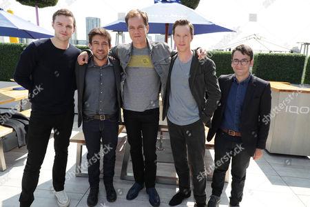 Nicholas Hoult, Alfonso Gomez-Rejon, Director, Michael Shannon, Benedict Cumberbatch and Michael Mitnick, Writer/Executive Producer