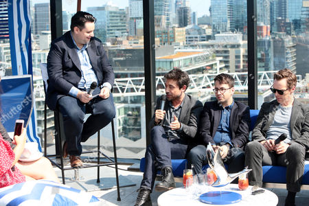 Joe Utichi, Alfonso Gomez-Rejon, Director, Michael Mitnick, Writer/Executive Producer, and Benedict Cumberbatch