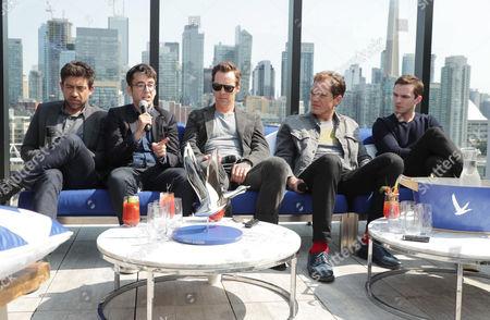 Alfonso Gomez-Rejon, Director, Michael Mitnick, Writer/Executive Producer, Benedict Cumberbatch, Michael Shannon and Nicholas Hoult