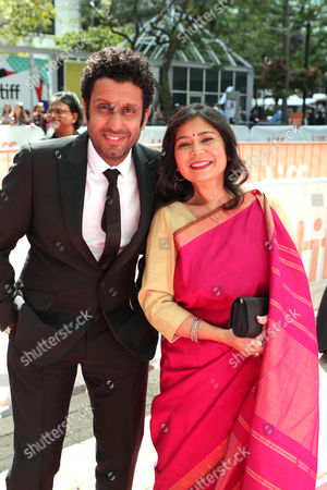 Adeel Akhtar and Shrabani Basu