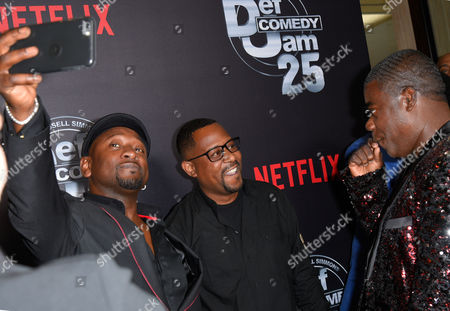 Joe Torry, Martin Lawrence and Tracy Morgan