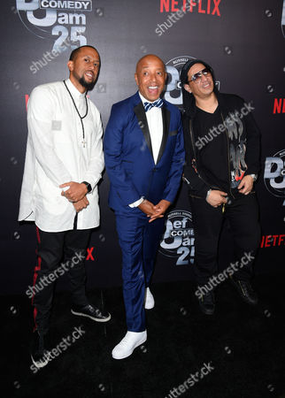 Editorial photo of 'Def Comedy Jam 25' special event, Arrivals, Los Angeles, USA