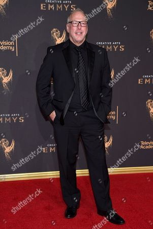 Stock Picture of Mark Blutman arrives at night two of the Television Academy's 2017 Creative Arts Emmy Awards at the Microsoft Theater, in Los Angeles