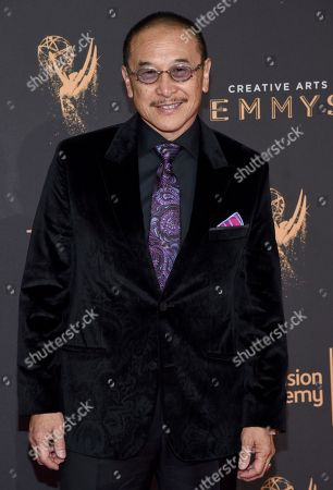 James Lew arrives at night two of the Television Academy's 2017 Creative Arts Emmy Awards at the Microsoft Theater, in Los Angeles