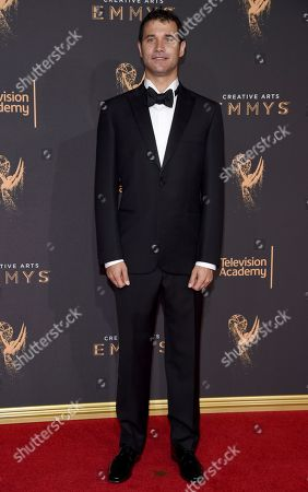 Ramin Djawadi arrives at night two of the Television Academy's 2017 Creative Arts Emmy Awards at the Microsoft Theater, in Los Angeles