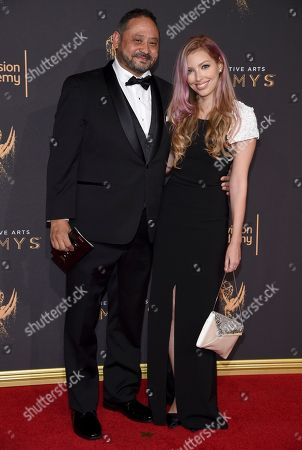 Editorial image of Television Academy's 2017 Creative Arts Emmy Awards - Arrivals - Night 2, Los Angeles, USA - 10 Sep 2017