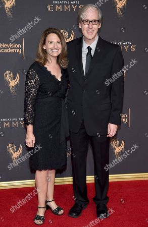 Jeff Beal, Joan Beal. Jeff Beal, right, and Joan Beal arrive at night two of the Television Academy's 2017 Creative Arts Emmy Awards at the Microsoft Theater, in Los Angeles