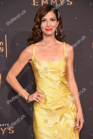 Jama Williamson arrives at night two of the Television Academy's 2017 Creative Arts Emmy Awards at the Microsoft Theater, in Los Angeles
