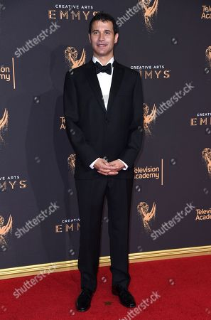 Ramin Djawadi arrives at night two of the Creative Arts Emmy Awards at the Microsoft Theater, in Los Angeles