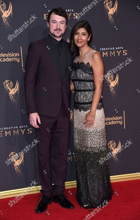 Stock Picture of Johanna Argan arrives at night two of the Creative Arts Emmy Awards at the Microsoft Theater, in Los Angeles