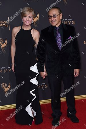 Jordana Lew, James Lew. Jordana Lew, left, and James Lew arrive at night two of the Creative Arts Emmy Awards at the Microsoft Theater, in Los Angeles