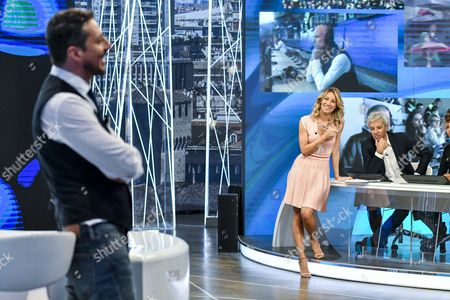 Editorial picture of 'Quelli che aspettano' TV show, Milan, Italy - 10 Sep 2017