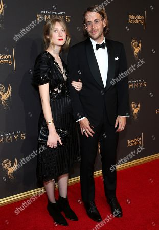 Editorial image of Television Academy's 2017 Creative Arts Emmy Awards - Red Carpet - Night 2, Los Angeles, USA - 10 Sep 2017